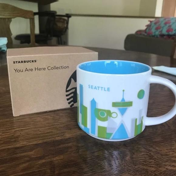 Starbucks You Are Here Seattle Mug